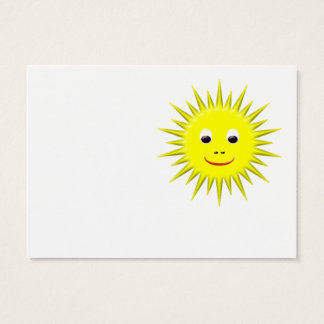 Smiling Sun business card