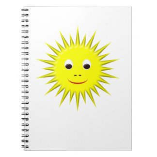 Smiling Sun notebook