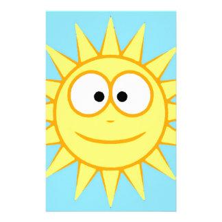 Smiling sun - Smiling Sun Stationery Design
