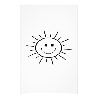 Smiling Sun Stationery Paper