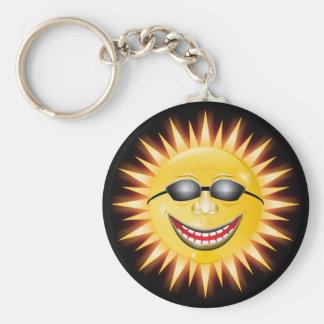 Smiling Sunshine Key Ring