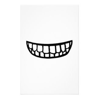 Smiling Teeth Stationery Design