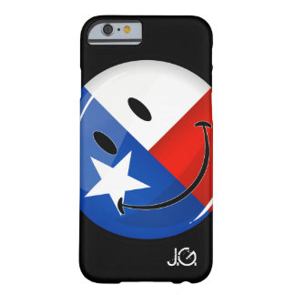 Smiling Texas Flag Barely There iPhone 6 Case