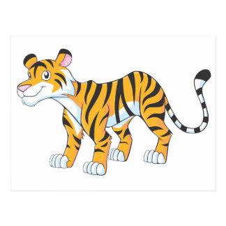 Smiling Tiger Postcard