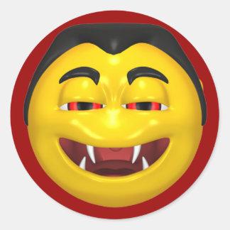 Smiling Vampire Sticker