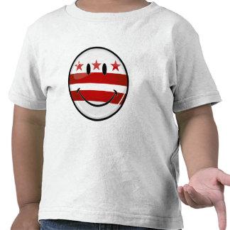 Smiling Washington DC Flag Tee Shirt