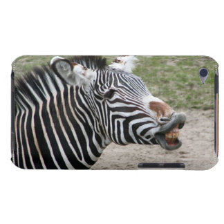 Smiling Zebra iTouch Case Barely There iPod Cover