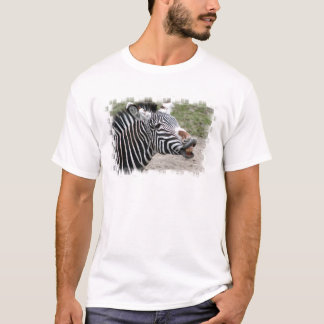 Smiling Zebra Men's T-Shirt