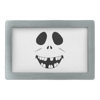 Smiling Zombie Face Belt Buckles