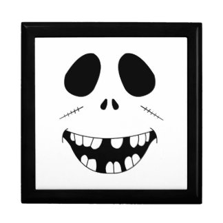 Smiling Zombie Face Gift Box