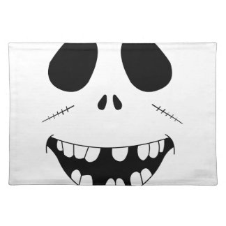 Smiling Zombie Face Placemat