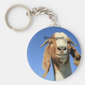 Smilingoat Key Ring