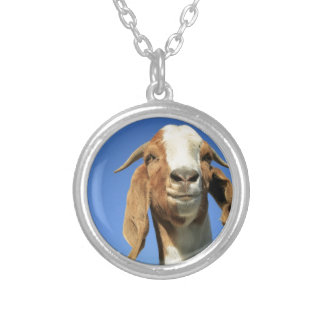 Smilingoat Silver Plated Necklace