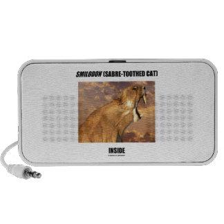 Smilodon Sabre-Toothed Cat Inside Travel Speaker