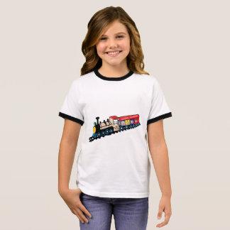 Smily Choo-Choo Train Ringer T-Shirt