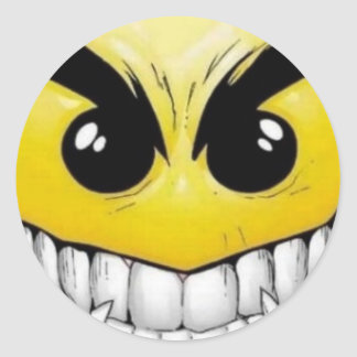 smily face sticker