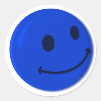 SMILY ROUND STICKER