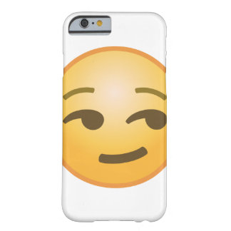 Smirking Emoji Barely There iPhone 6 Case