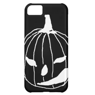 Smirking pumpkin case for iPhone 5C
