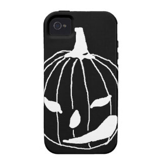Smirking pumpkin iPhone 4/4S case