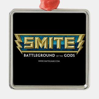 SMITE Logo Battleground of the Gods Christmas Ornament
