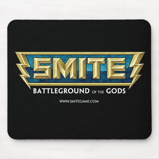 SMITE Logo Battleground of the Gods Mouse Mat