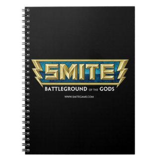 SMITE Logo Battleground of the Gods Notebook