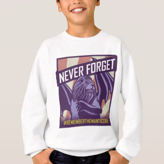 SMITE: Manticore Never Forget Sweatshirt
