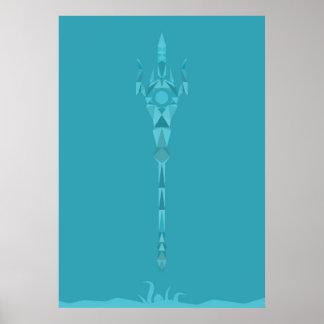 SMITE - Poseidon - God of the Oceans Poster