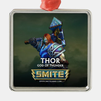 SMITE: Thor, God of Thunder Christmas Ornament
