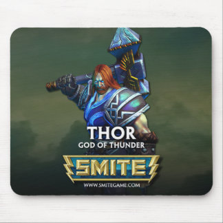 SMITE: Thor, God of Thunder Mouse Pad