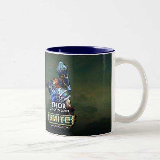 SMITE: Thor, God of Thunder Coffee Mug