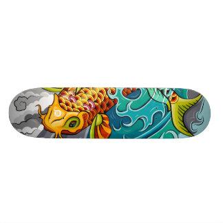 Smitees 'Koi' Skateboard Deck
