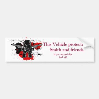 Smith and friends custom bumper sticker