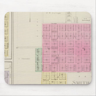 Smith Centre, Gould City, Motor, Webster, Kansas Mousepad
