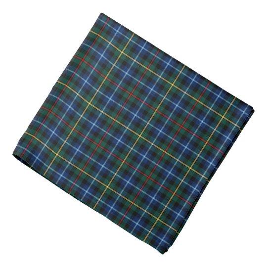 Smith Clan Tartan Royal Blue and Green Plaid