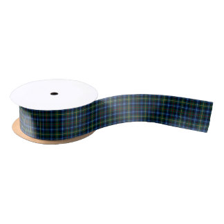 Smith Clan Tartan Satin Ribbon