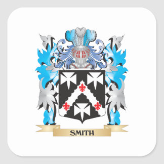 Smith Coat of Arms - Family Crest Square Sticker