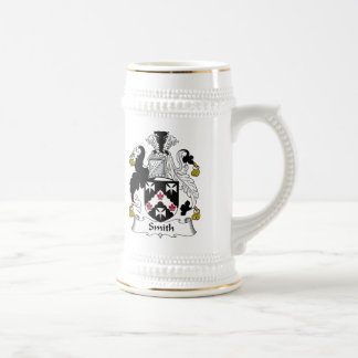Smith Family Crest Beer Steins