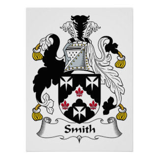Smith Family Crest Poster
