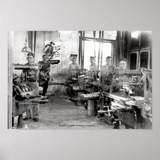 Smith Machine Shop  1940's Poster