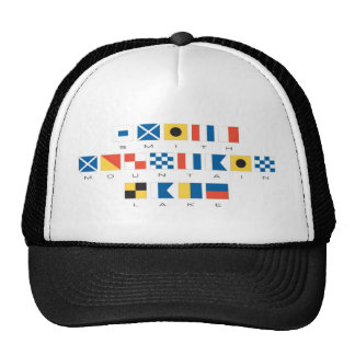 Smith Mountain Lake Nautical Flags Cap