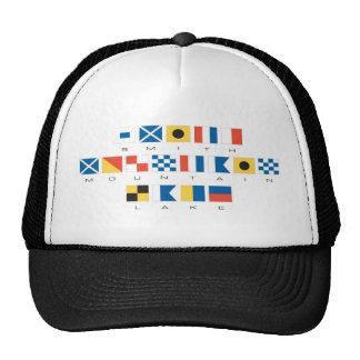 Smith Mountain Lake Nautical Flags Hats