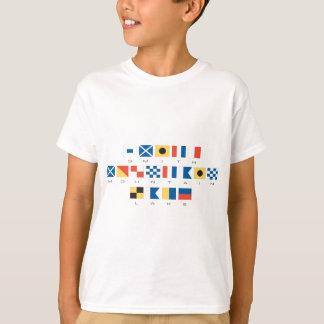 Smith Mountain Lake Nautical Flags T-Shirt