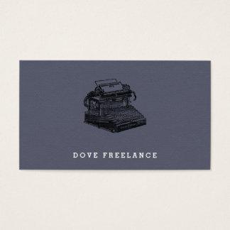 Smith Premier No. 2 Typewriter Business Card