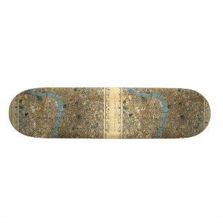 Smith s new map of London 1860 Custom Skateboard