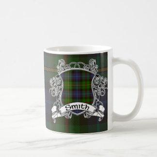 Smith Tartan Shield Basic White Mug