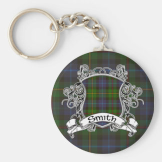 Smith Tartan Shield Key Ring