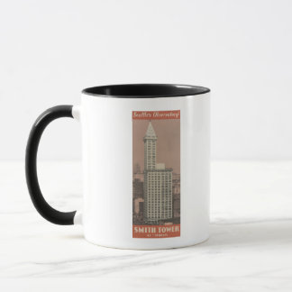 Smith Tower, Seattle's Observatory Mug