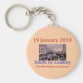 Smith vs Coakley Keychain